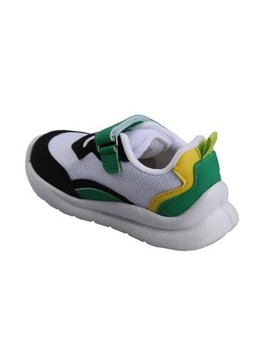 Cool 20-S29 Beyaz Erkek Çocuk Bebe Günlük Spor Ayakkabı Beyaz